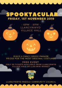 Spooktacular 2019 Poster