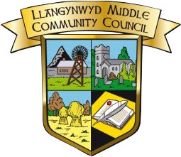 Llangynwyd Middle Community Council - logo footer